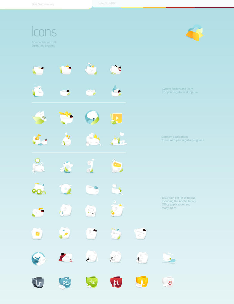 Icons for GAIA08 by imrik