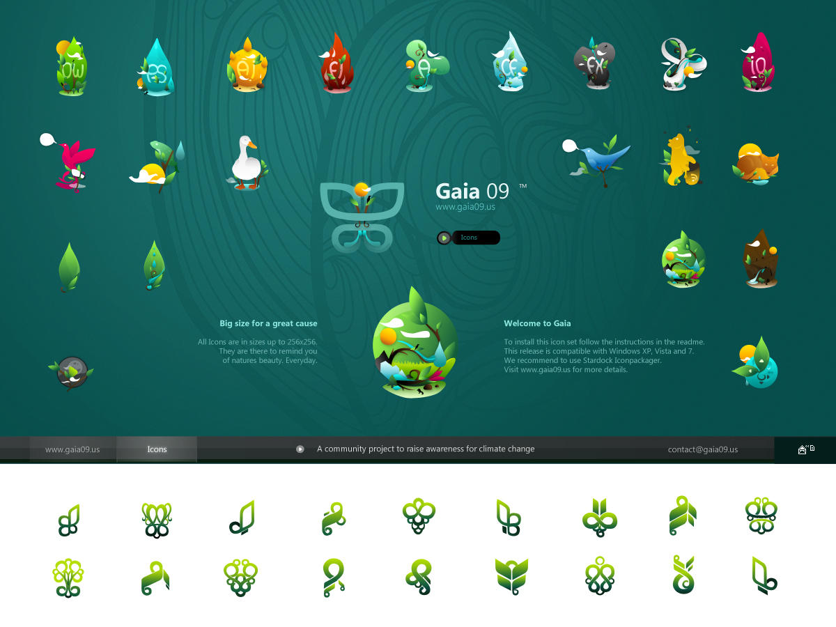 Gaia 09 Icons by imrik
