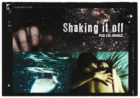Shaking it off | Effect .PSD by Inspirecolors