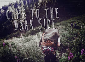 Come to the dark side|PSD effect by Inspirecolors