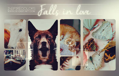 Falls in love .PSD by Inspirecolors