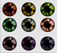 Eyes 2 by GothyLox