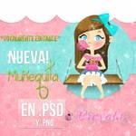 Doll ''Pinky'' .PSD