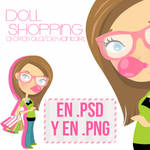 Doll Shopping en .PSD y .PNG