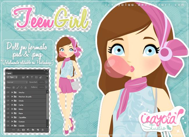 TeenGirl by iCrayolaa