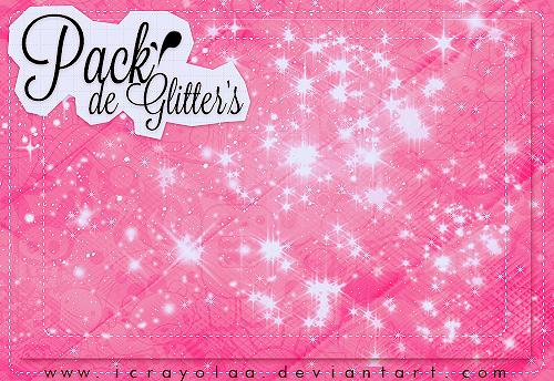 Glitter's Pack by iCrayolaa