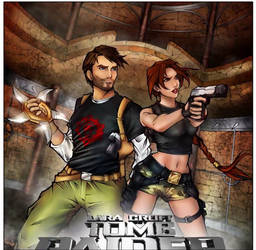 Tomb Raider The Angel of Darkness - Coloring Book by LoiccoiL