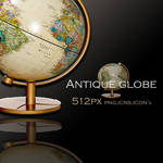 Antique globe icon