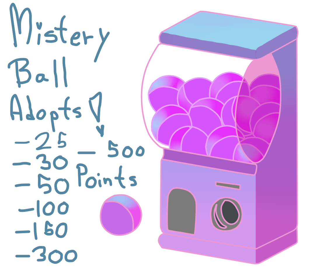 Mistery Ball Adopts! by Shina-X