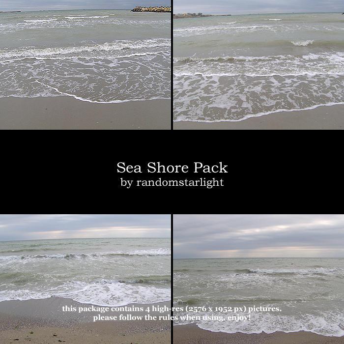 Sea Shore Pack by randomstarlight