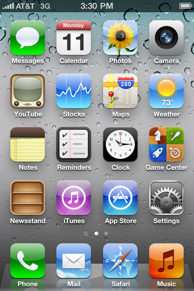 iPhone 4 iOS 5 App Icons by xXmatt69Xx1