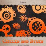 Circles and Stars shape