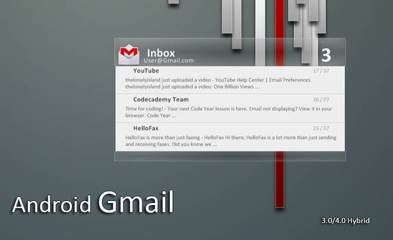 Android 4.0 Gmail |  v1.5