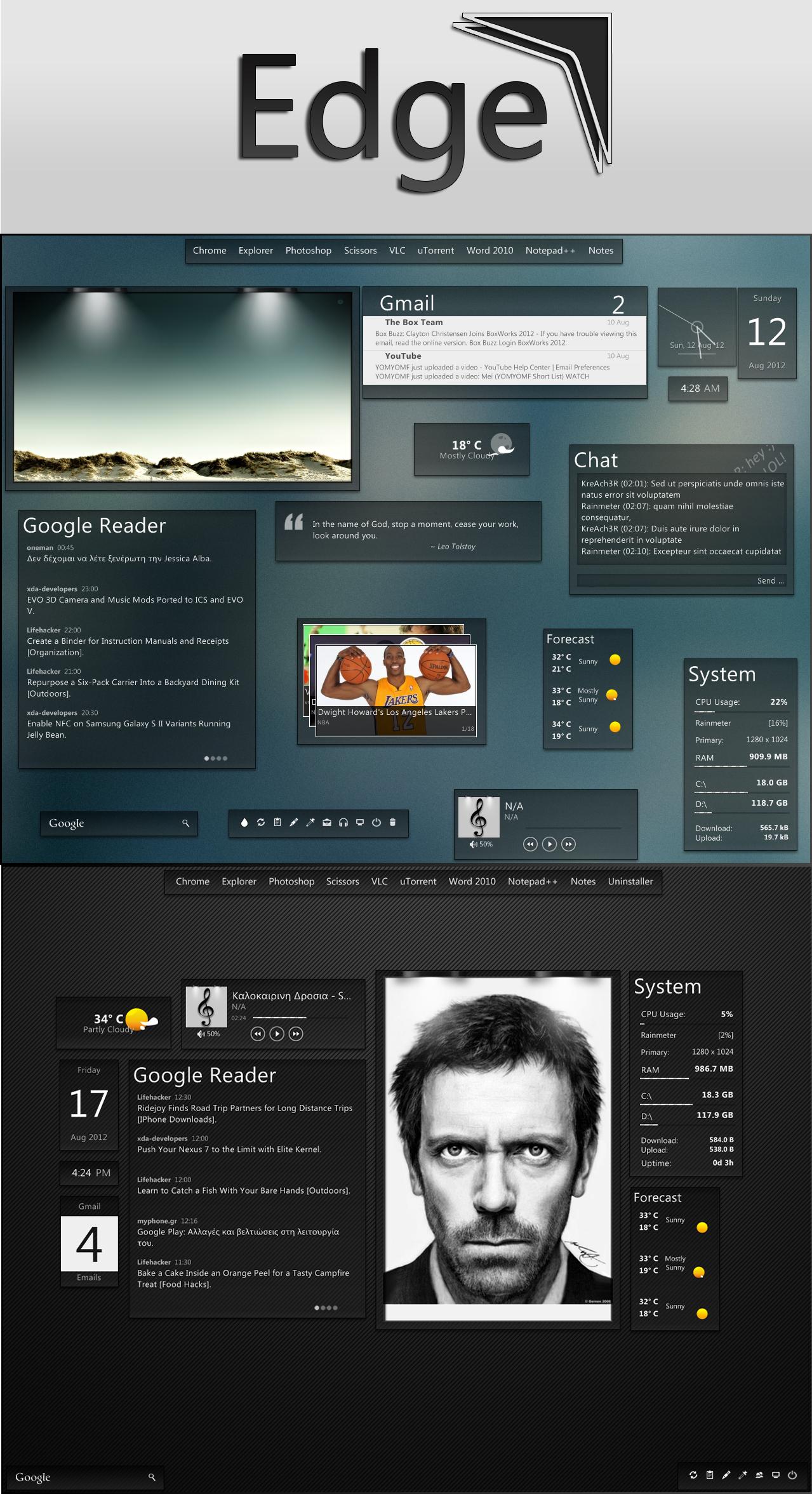 Edge Suite | Beta 0.8 by KreDoc
