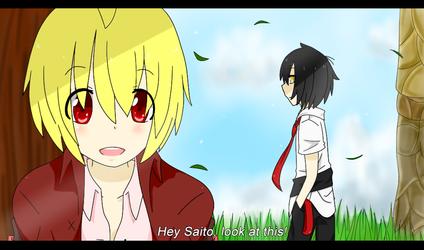 Chakra Anime Scene Practice by CuteNikeChan