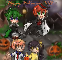 Happy Halloween 2014 by CuteNikeChan