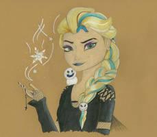 Gothic Elsa by Falshaw18