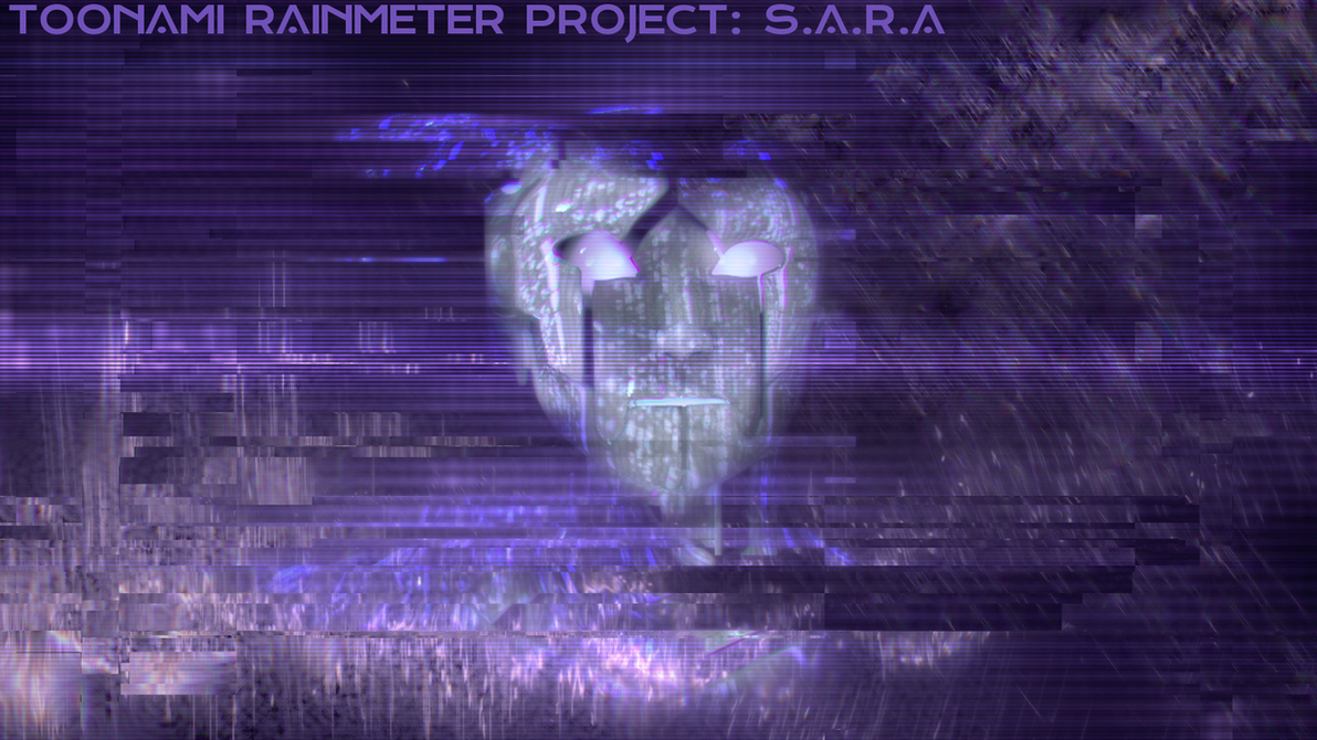Toonami Rainmeter Project  S.A.R.A 1.0 by HackalotSpark
