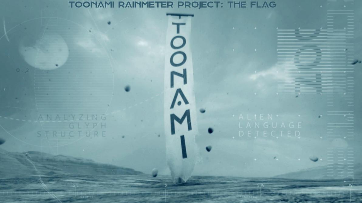 Toonami Rainmeter Project - The Flag 1.0 by HackalotSpark