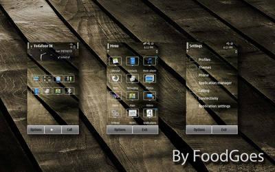 Dark Wood for symbian 3 by Foodgoes