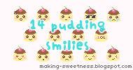 Pudding smilies