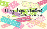 Fancy tape brushes