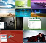 Windows 8.1 XP Theme All Colors v2