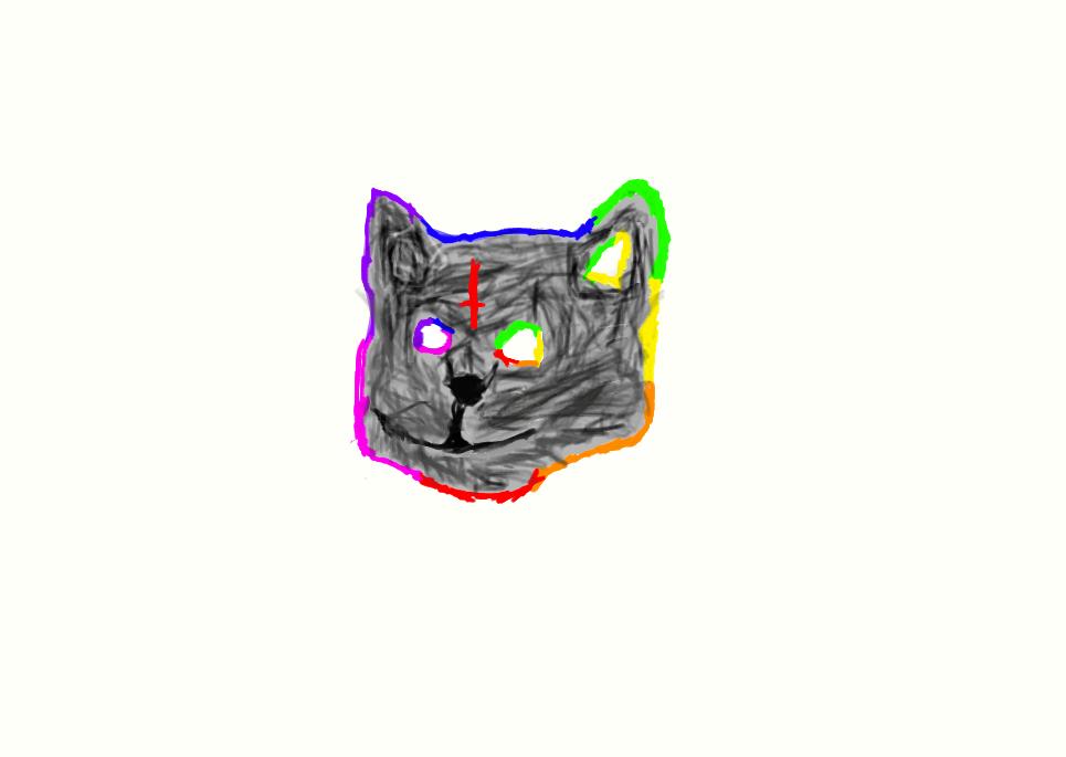 Golf Wang Cat Wallpaper Tron cat by wolfgangturtl3