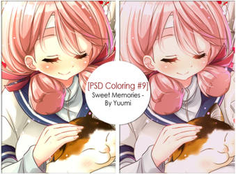 [PSD Coloring #9] Sweet Memories - By Yuumi by YuumiMasashi