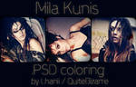 Mila Kunis - PSD Coloring by Lhanii