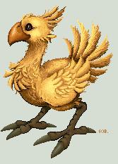 pixel - Chocobo by barananduen