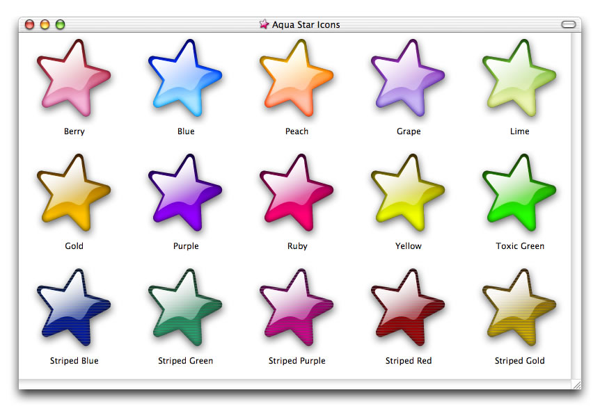 Aqua Stars by smhill