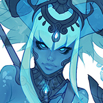 Water Spirit WIP by Reallygay