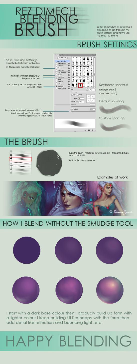 :Blending_Brush_Tutorial: by RezShirmeen