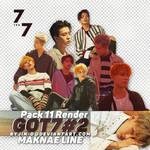 07102017. Pack Render GOT7 - Maknae Line @7for7