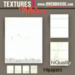 Textures: Draftbook Paper