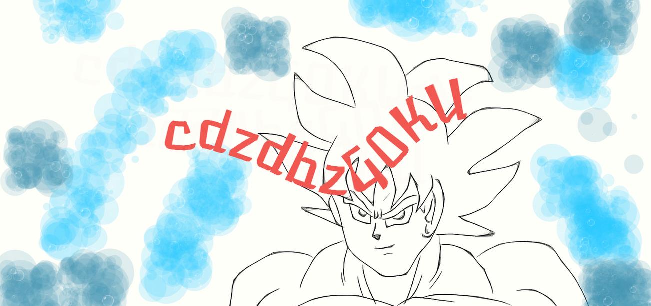 DBS Goku Ultra Instinct DA by cdzdbzGOKU