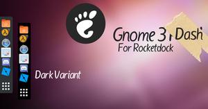 Gnome 3 Dash for Rocketdock