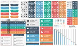 UI Elements - Vector EPS