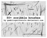 Scribble Brushes 02