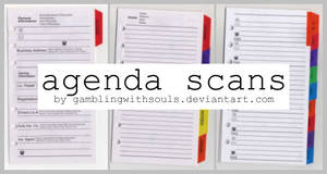 Agenda Scans