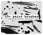25+ Paint Brushes