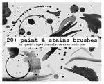 20+ Paint And Stains Brushes