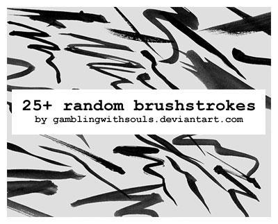 25+ Random Brushstrokes by gamblingwithsouls