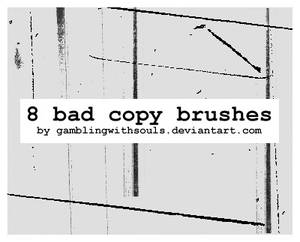 8 Bad Copy Brushes