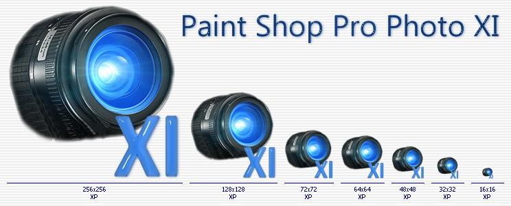 Paint shop pro xi