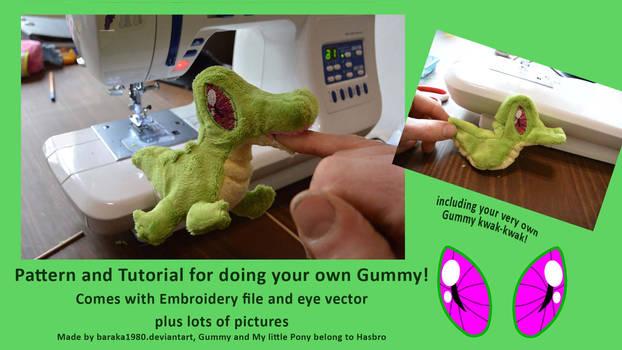 Tutorial: sewing Gummy