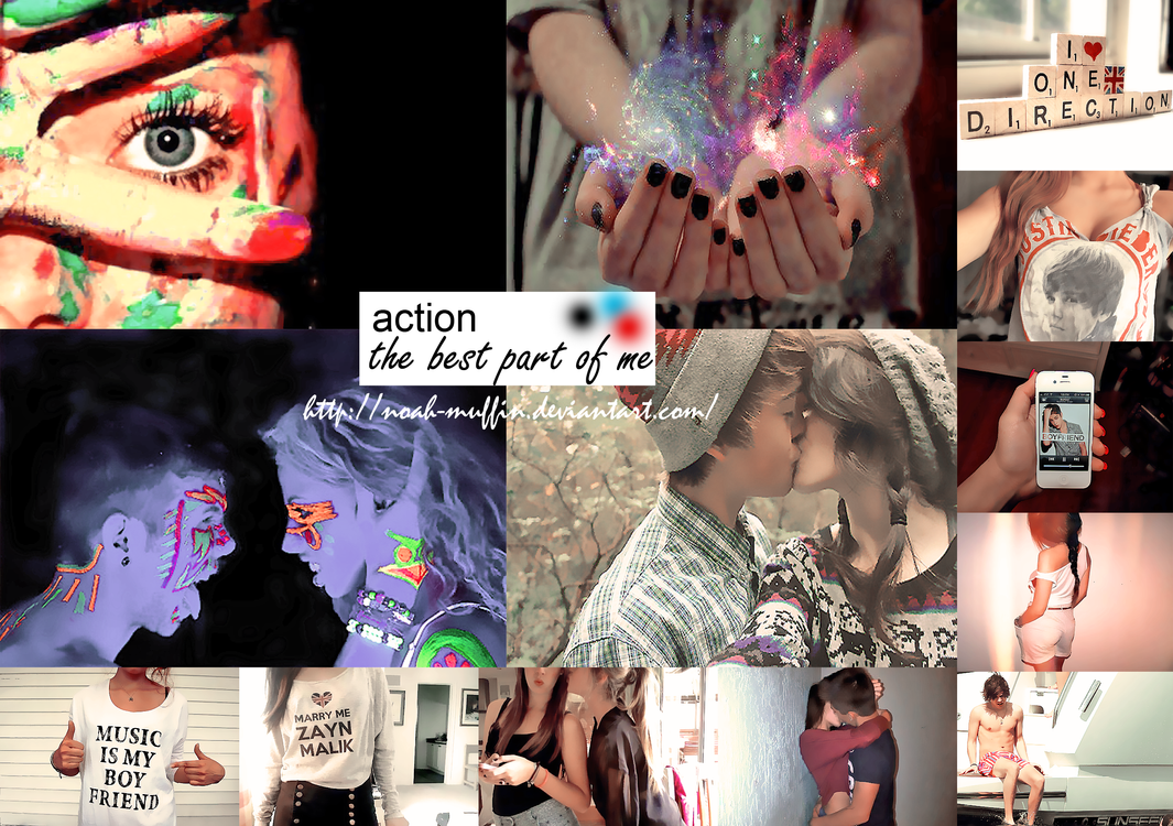 ACTION-the best part of me. by Noah-Muffin