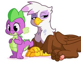 [Commission] Gilda and Spike (Animation) by RaidenGekkou