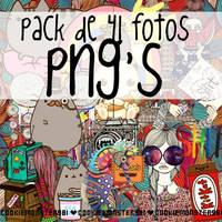 Pack de PNG'S 01 by cookiemonster981